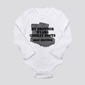 Army Brother Combat Boots Body Suit