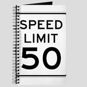 Speed Limit 50 Journal