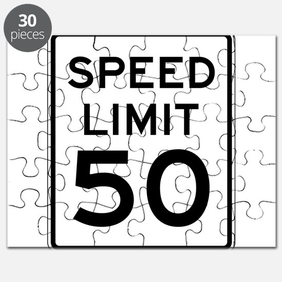 Speed Limit 50 Puzzle