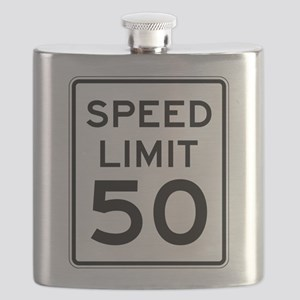 Speed Limit 50 Flask