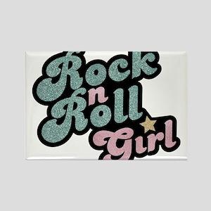 Rock N Roll Girl Magnets