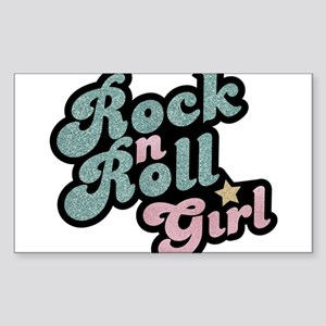 Rock N Roll Girl Sticker