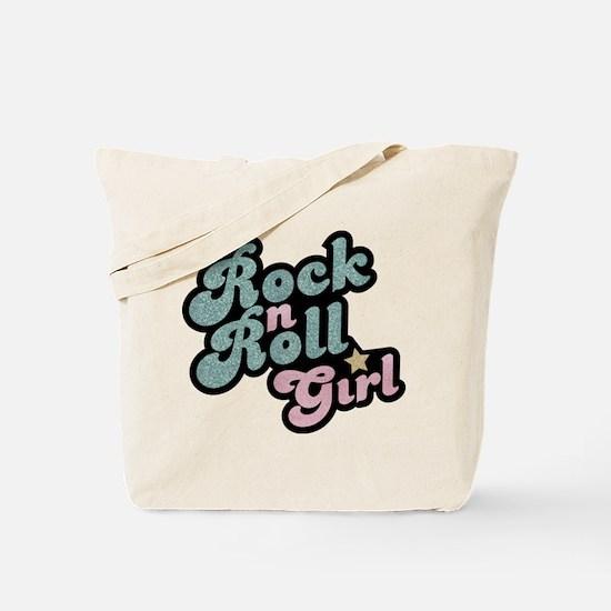 Rock N Roll Girl Tote Bag
