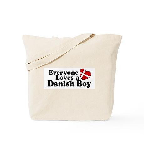 Everyone Loves a Danish Boy Tote Bag