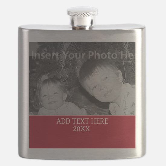 Completely Custom Red Flask