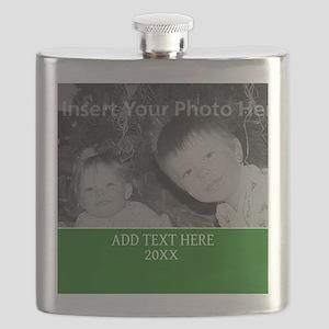 Completely Custom Green Flask