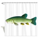 Tench Shower Curtain