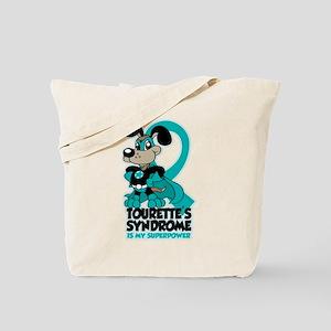 Tourette's Superpower Tote Bag