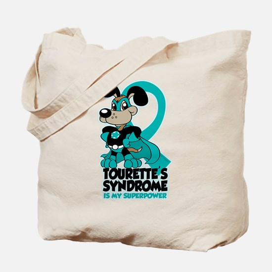 Tourette's Superpower Tote Bag