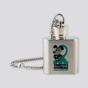 Tourette's Superpower Flask Necklace