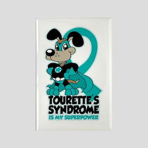 Tourette's Superpower Rectangle Magnet