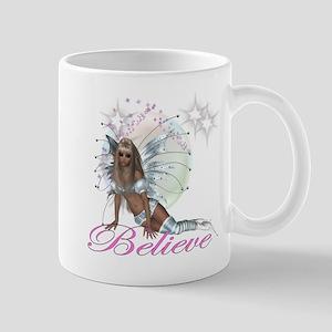 believe fairy moon Mugs