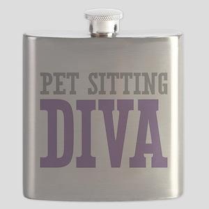 Pet Sitting DIVA Flask