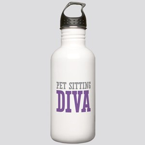 Pet Sitting DIVA Stainless Water Bottle 1.0L
