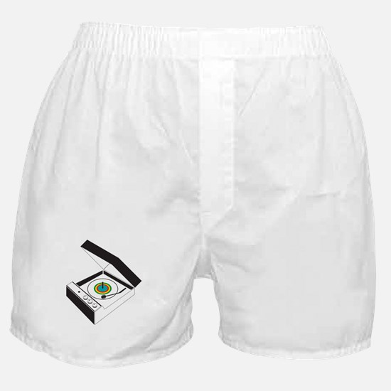 Record-Player Boxer Shorts