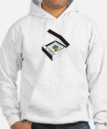 Record-Player Hoodie