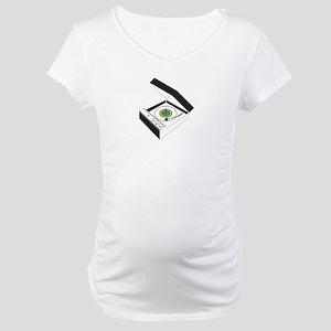 Record-Player Maternity T-Shirt