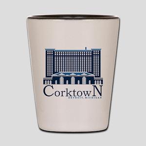 Corktown Shot Glass