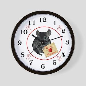 Chin Valentine Wall Clock
