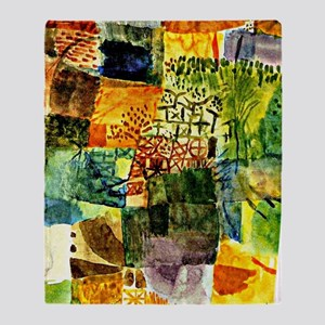 Klee - Remembrance of a Garden Throw Blanket