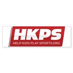 HKPS Logo Bumper Sticker
