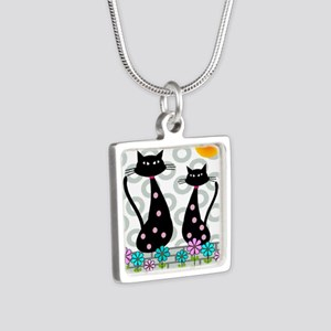 Whimsical Cats 4 Necklaces