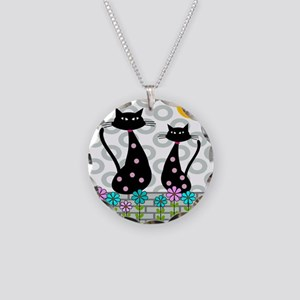 Whimsical Cats 4 Necklace