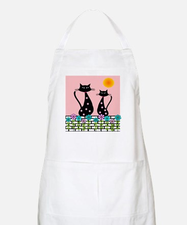 Whimsical Cats 3 Apron