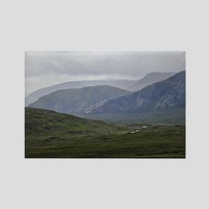The Highlands of Scotland Rectangle Magnet