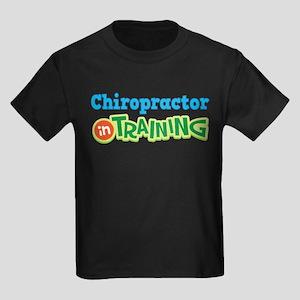 Chiropractor in Training Kids Dark T-Shirt
