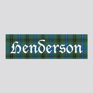 Tartan - Henderson 36x11 Wall Decal