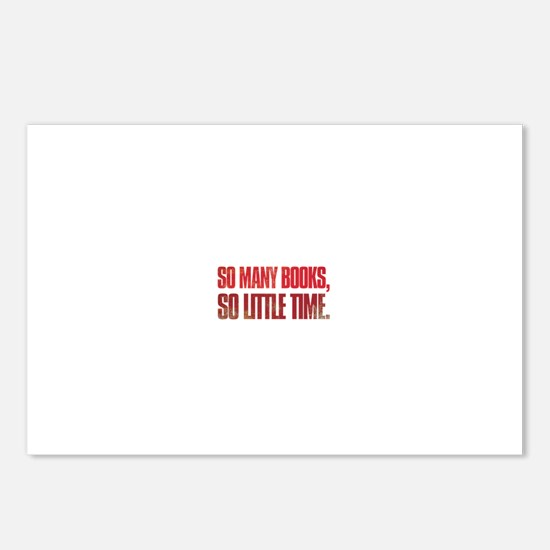 So many books, so little time Postcards (Package o
