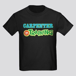 Carpenter in Training Kids Dark T-Shirt