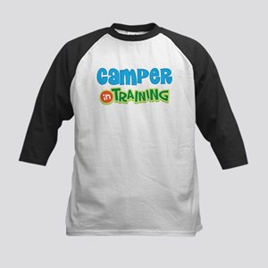 Camper in Training Kids Baseball Jersey