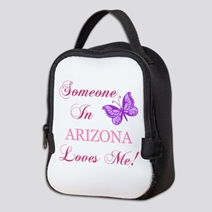 Arizona State (Butterfly) Neoprene Lunch Bag