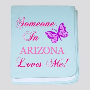 Arizona State (Butterfly) baby blanket