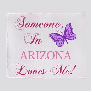 Arizona State (Butterfly) Throw Blanket