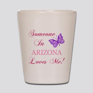 Arizona State (Butterfly) Shot Glass