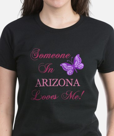 Arizona State (Butterfly) Women's Dark T-Shirt