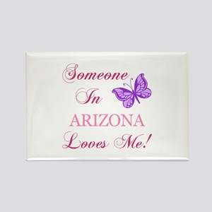 Arizona State (Butterfly) Rectangle Magnet