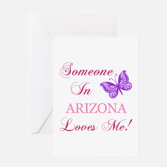 Arizona State (Butterfly) Greeting Card
