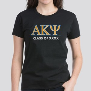 Alpha Kappa Psi Class of XXXX Women's Dark T-Shirt
