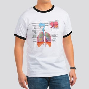 Respiratory system complete T-Shirt