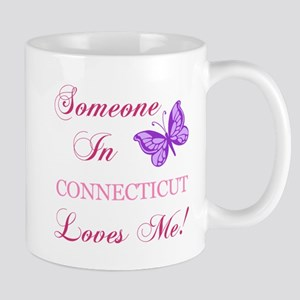 Connecticut State (Butterfly) Mug