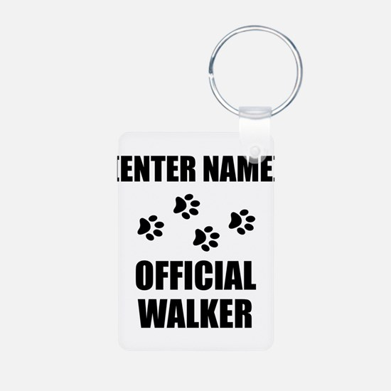 Official Pet Walker Personalize It!: Keychains