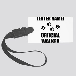 Official Pet Walker Personalize It!: Luggage Tag