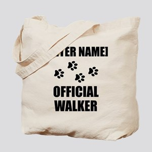 Official Pet Walker Personalize It!: Tote Bag