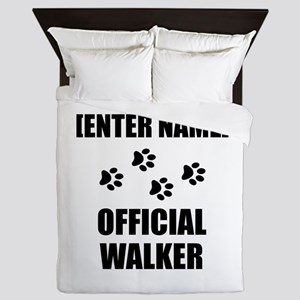 Official Pet Walker Personalize It!: Queen Duvet