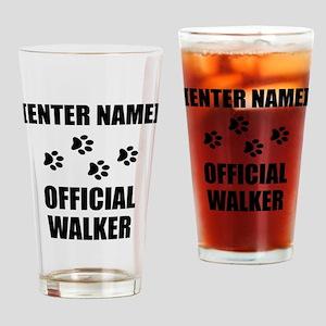 Official Pet Walker Personalize It!: Drinking Glas