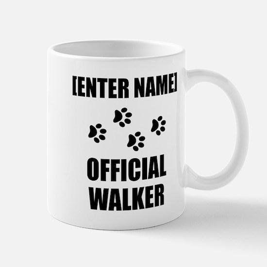 Official Pet Walker Personalize It!: Mugs